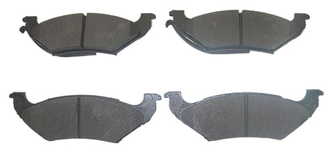 Kelsey-Hayes 14-544-12 Pro Series Semi-Metallic Disc Brake Pads