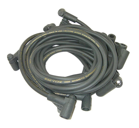Moroso 9225M Mag-Tune Spark Plug Wire Set - Made in U.S.A. - 1975-1982 Corvette
