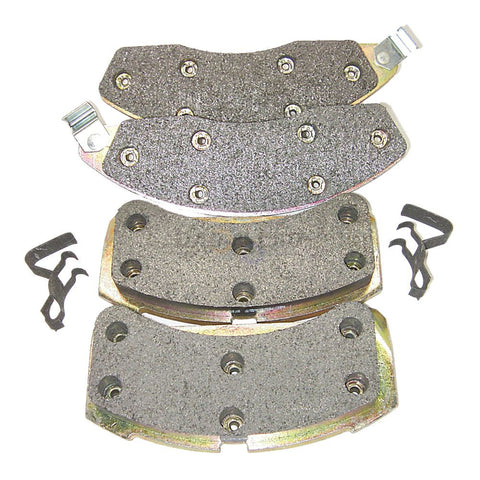 Morse MKD181 Friction Master Premium Semi-Metallic Front Disc Brake Pads