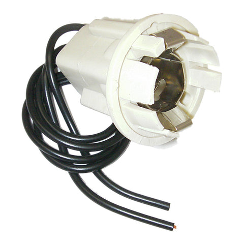 Parts Master 82010 2-Wire Double Contact Multi-Use Lamp Socket & Pigtail (Qty 1)