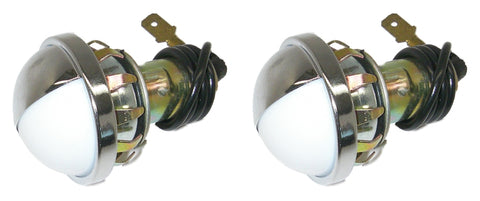 Parts Master 84001 1-Wire License Plate and Utility Light and Pigtail (Qty 2)
