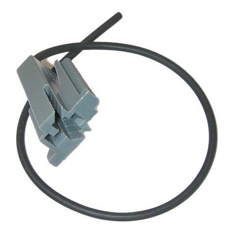 Parts Master 84038 1-Wire Gray Choke Thermostat Pigtail Connector - GM Products