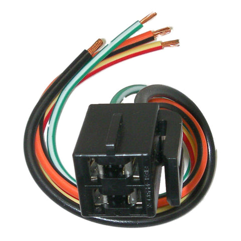 parts master 84081 4 wire hvac blower switch pigtail connector for rh dad n lad com Ford Wiring Harness Kits Ford Electrical Connectors