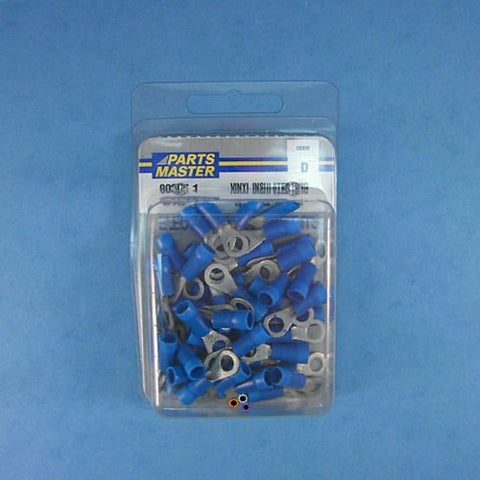 Parts Master 80305 Vinyl Insulated Crimp Ring 16 14 GA 10 Stud  Package of 50