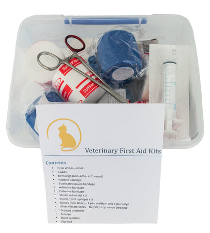 Cat First Aid Kits