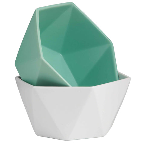 Origami Bowl Green (Large)