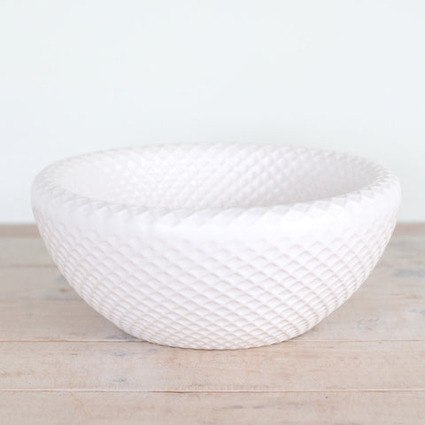Lattice Bowl (White)