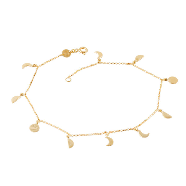 NEW! Moon Phase Anklet