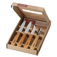 Opinel Beech Wood Kitchen Essentials 4pcs
