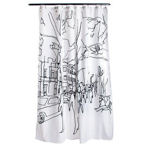 Marimekko Hetkia Moments Shower Curtain