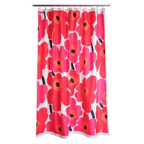 Marimekko Unikko Shower Curtain Red