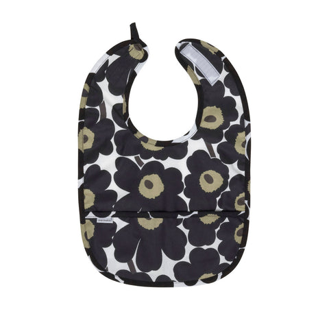 Marimekko Mini Unikko Coated Cotton Bib