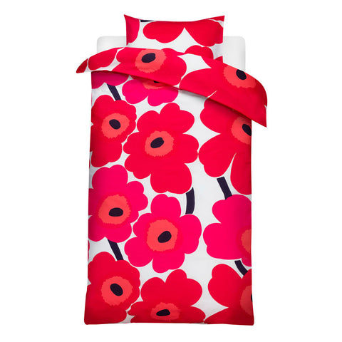 Marimekko Unikko Single 150x210cm Duvet Cover & Pillowcase