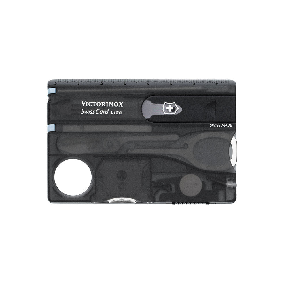 Victorinox Swiss Card Lite Black Transparent