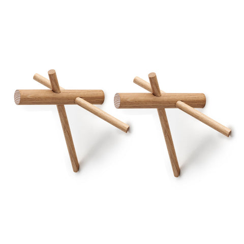 Normann Copenhagen Sticks Hooks Nature 2pcs