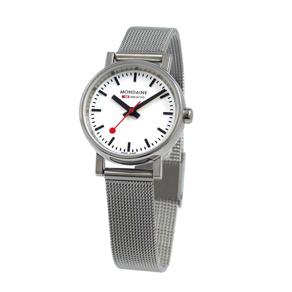Mondaine Ladies A658.30301.11SBV Evo Watch Mesh Band