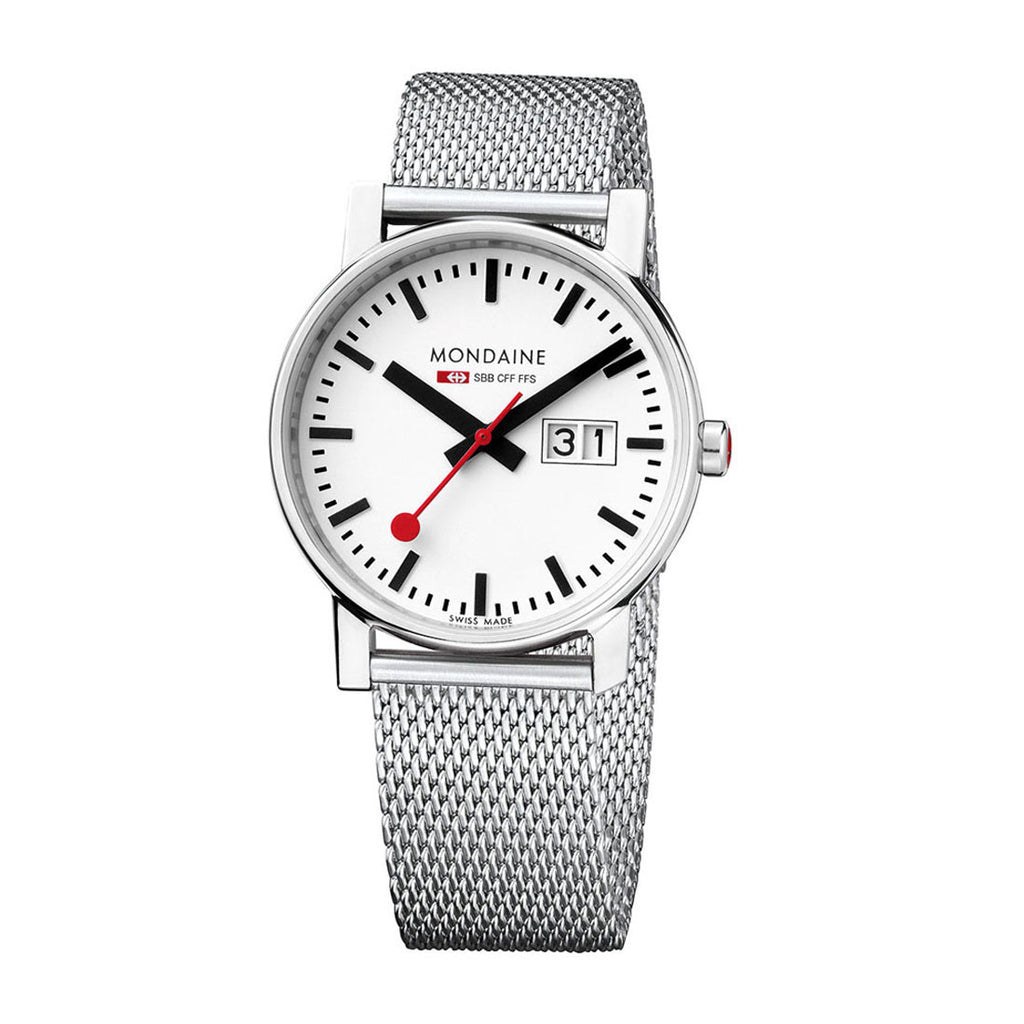 Mondaine Ladies A669.30305.11SBM Evo Watch Mesh Band