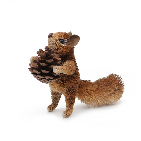 Squirrel Brown Standing hanging decoration