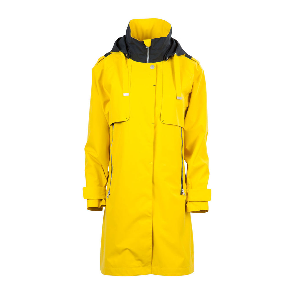 Blaest 2017 508 Tec Long Raincoat Yellow