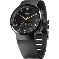 Braun Mens BN0159BKBKG Ana-Digi Watch