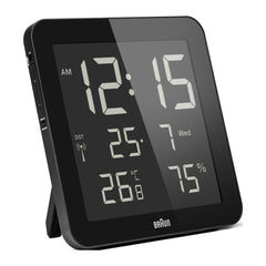 Braun BNC014 Digital Wall Clock Black
