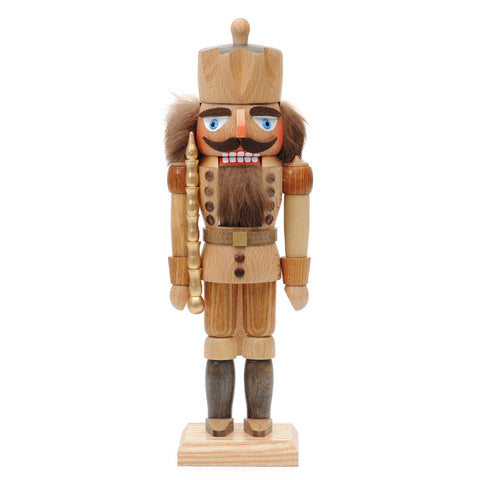 German made Nutcracker King Natural