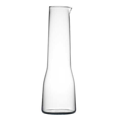 Iittala Essence Carafe Clear 100cl Hand Blown