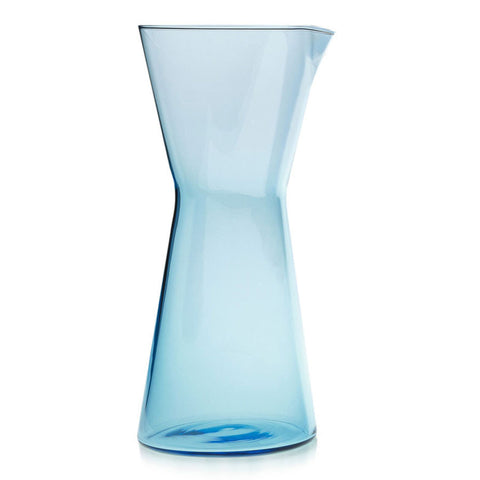 Iittala Kartio Pitcher Light Blue 95cl Hand Blown