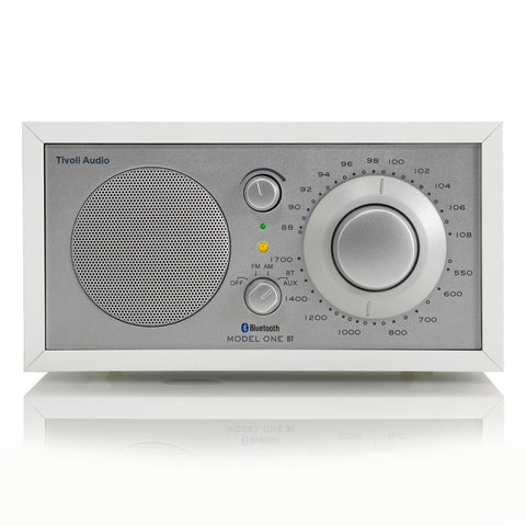 Tivoli Model 1 Radio AM/FM Bluetooth White/Silver