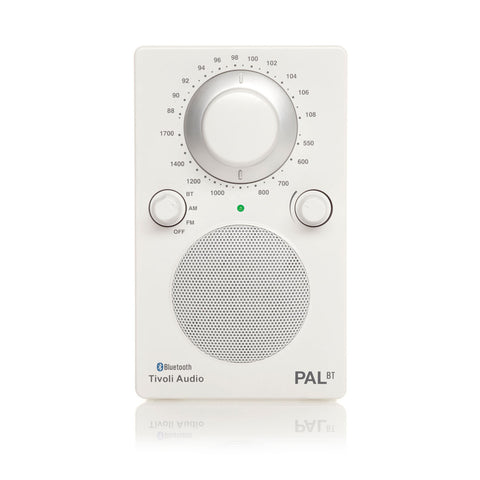Tivoli PAL Portable AM/FM Radio with Bluetooth White