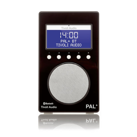 Tivoli PAL+ Bluetooth Portable FM/DAB+ Radio Black