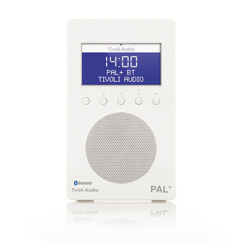 Tivoli PAL+ Bluetooth Portable FM/DAB+ Radio White