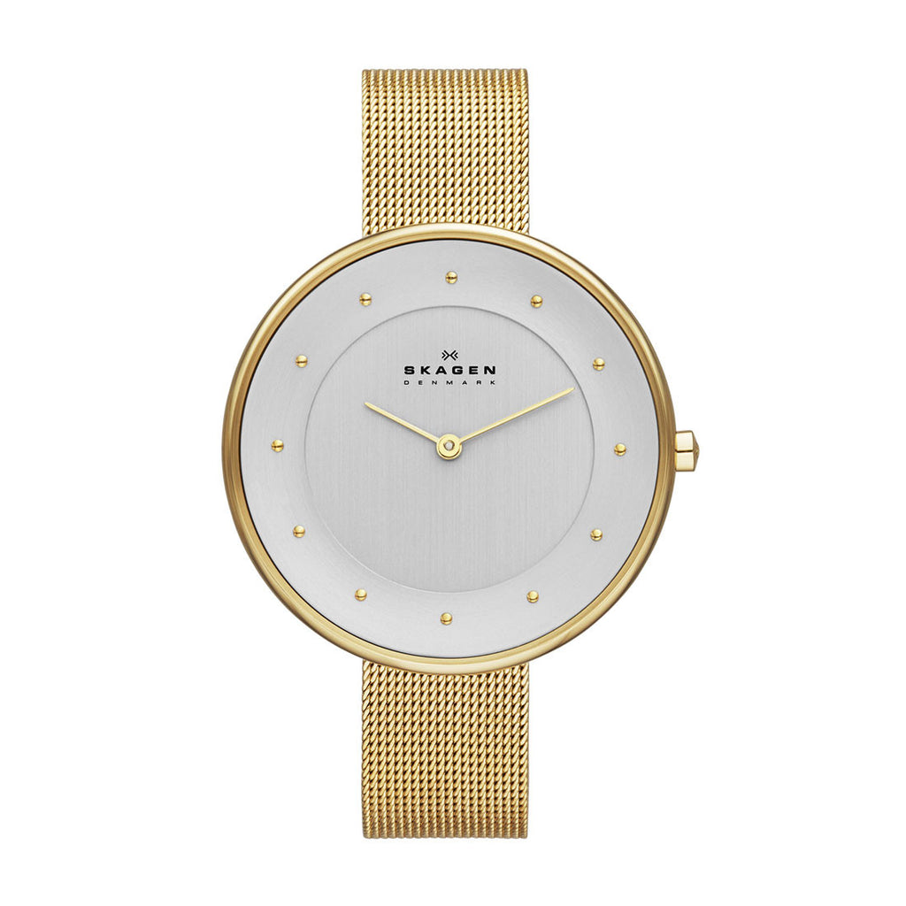 Skagen Ladies SKW2141 Gitte Watch White/Gold