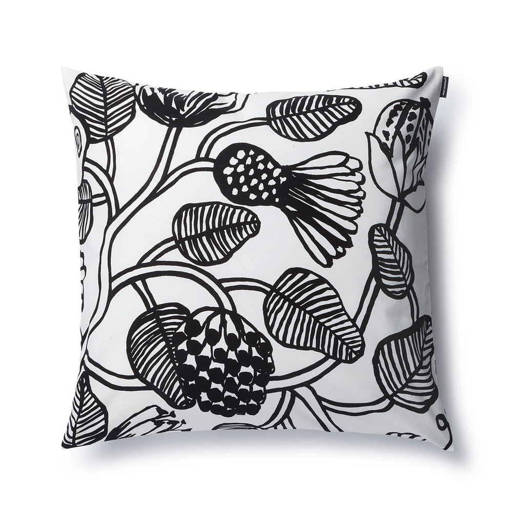 Marimekko Tiara Cushion Cover Black and White 50x50 CM