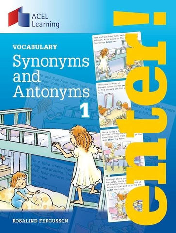 Enter: Synonyms and Antonyms 1