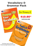 Vocabulary & Grammar Pack (for Primary 2)