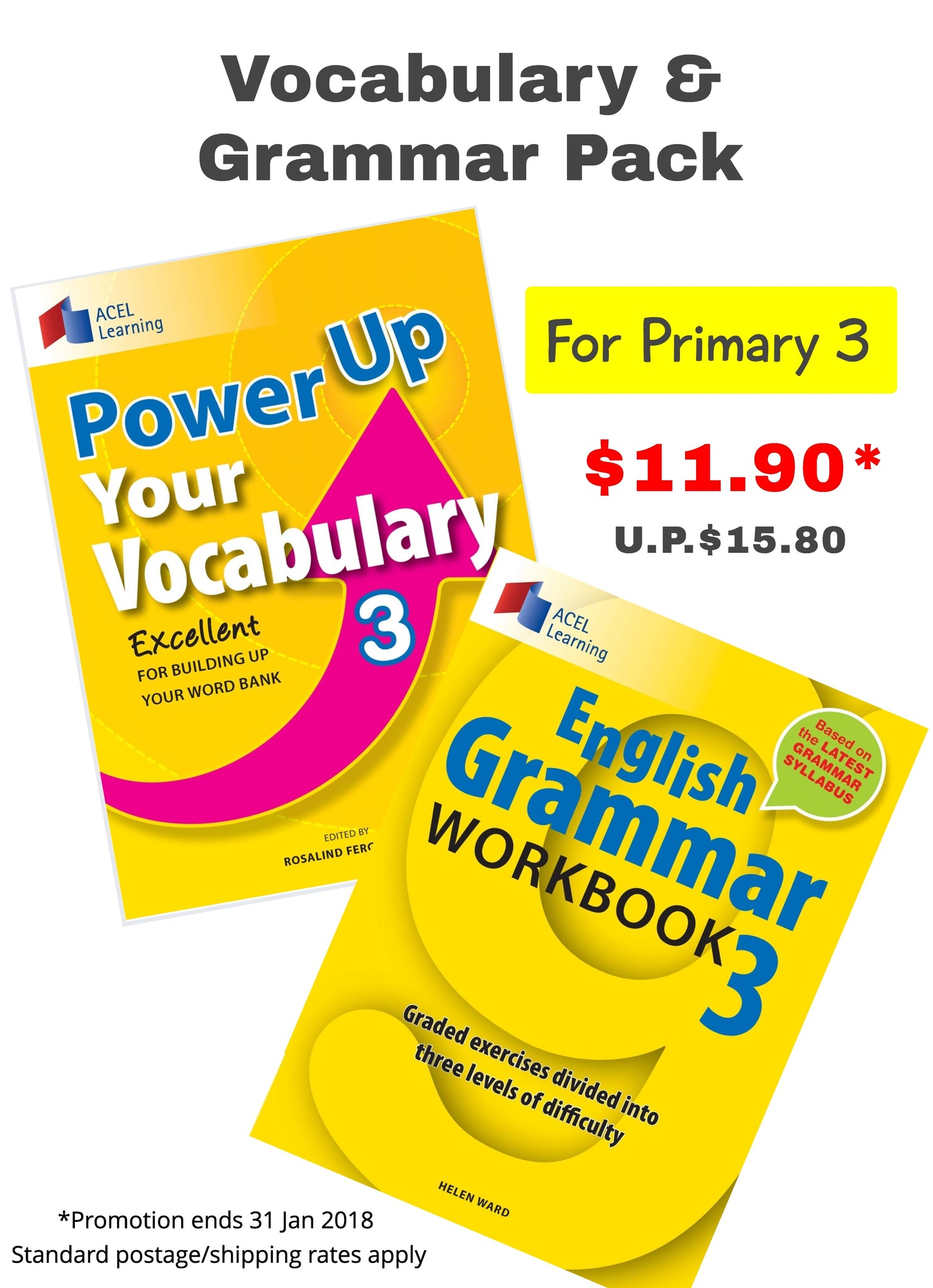 Vocabulary & Grammar Pack (for Primary 3) – Acel Learning (S) Pte Ltd