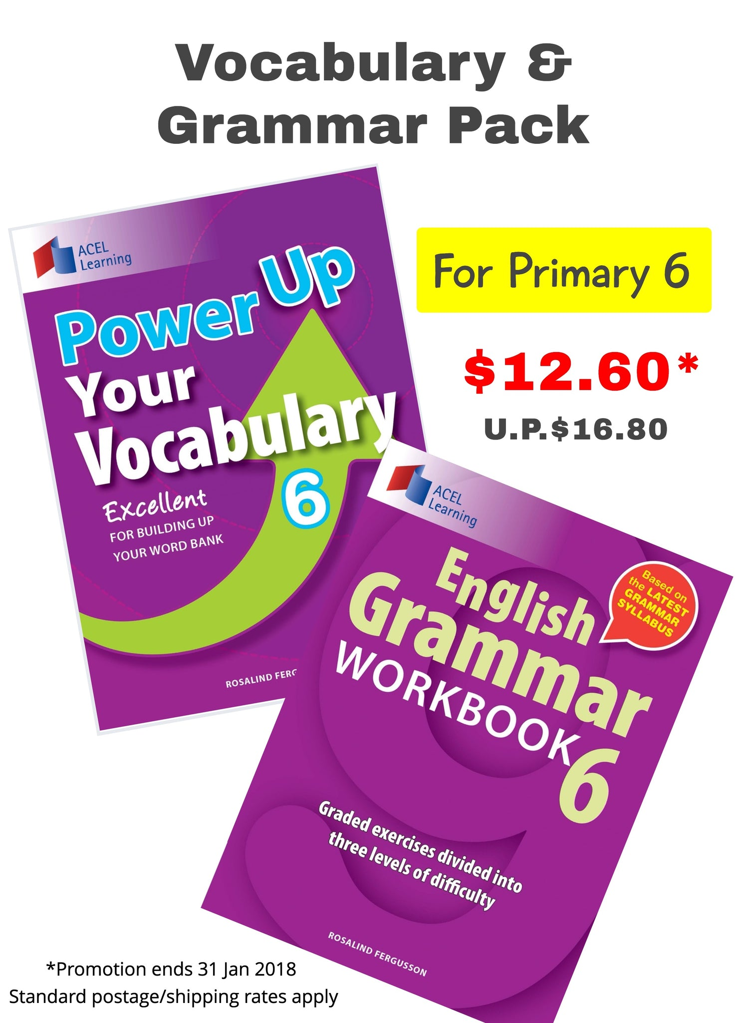 Vocabulary & Grammar Pack (for Primary 6)