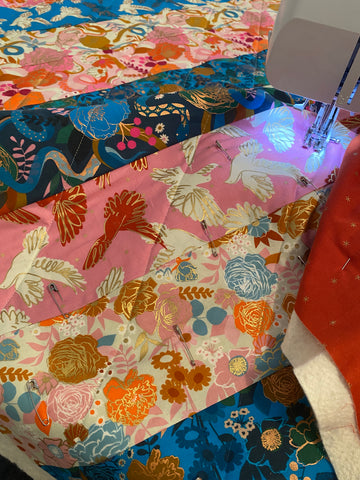 Intro to Quilting Sunday's Feb. 21 - March 28
