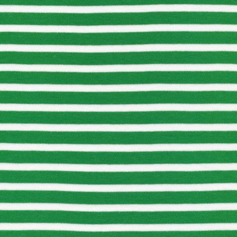 Colorful Stripes Green Organic Knit
