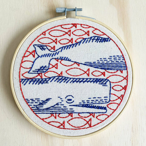Deep Dive Embroidery Kit