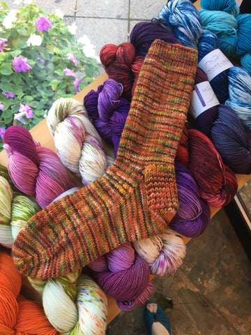 Socks! Intermediate Knitting Class Oct. 18, 25 and Nov. 1st