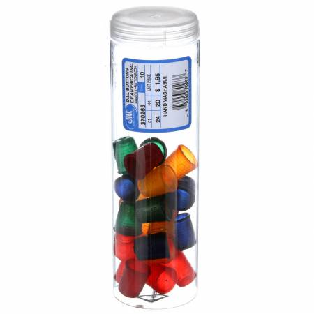 Rubber Thimble Assorted Colors and Sizes