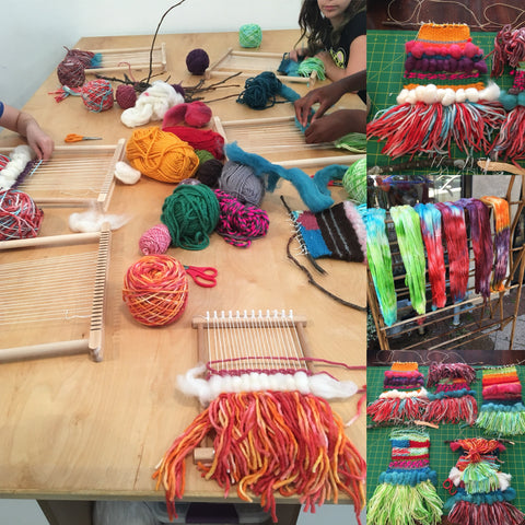 Weaving and Knitting Tuesdays 1/8 - 3/19, 4-5:15pm