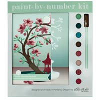 Cherry Blossom Paint By Numbers