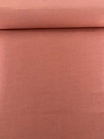 100% European Linen 4oz/yard Dusty Rose