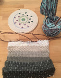 Handcrafting: Knitting, Weaving and Embroidery Thursdays 1/9 - 3/12 4-5:15pm