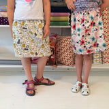 Week 3 June 24 - 28 Basic Kids Gathered Skirt and Tote