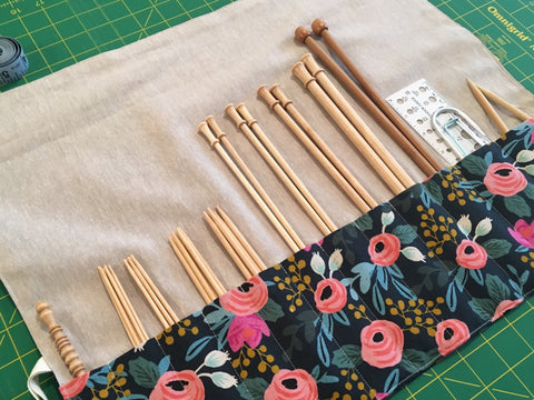 Knitting Needle or Paintbrush Maki Roll February 7