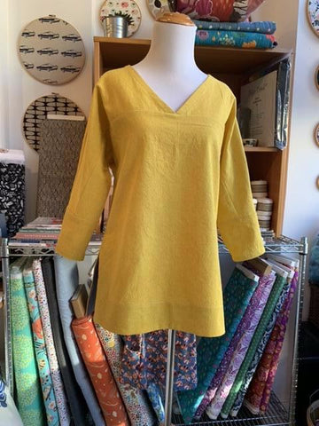 The Lela Tunic and Top Thursdays 10:30am - Noon April 16 - May 14